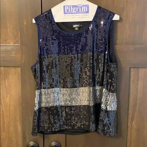 DKNY sequin top. Excellent condition.